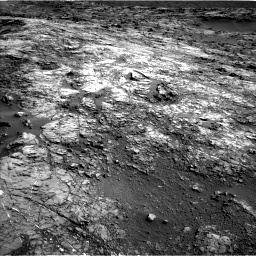 Nasa's Mars rover Curiosity acquired this image using its Left Navigation Camera on Sol 1215, at drive 574, site number 52