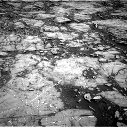 Nasa's Mars rover Curiosity acquired this image using its Right Navigation Camera on Sol 1215, at drive 10, site number 52