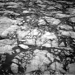 Nasa's Mars rover Curiosity acquired this image using its Right Navigation Camera on Sol 1215, at drive 28, site number 52