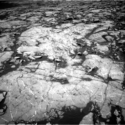 Nasa's Mars rover Curiosity acquired this image using its Right Navigation Camera on Sol 1215, at drive 52, site number 52