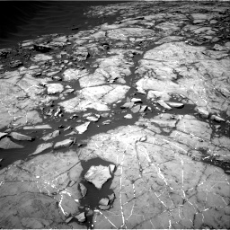 Nasa's Mars rover Curiosity acquired this image using its Right Navigation Camera on Sol 1215, at drive 58, site number 52