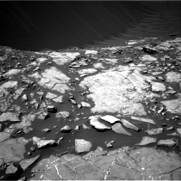 Nasa's Mars rover Curiosity acquired this image using its Right Navigation Camera on Sol 1215, at drive 70, site number 52