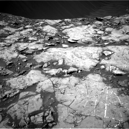 Nasa's Mars rover Curiosity acquired this image using its Right Navigation Camera on Sol 1215, at drive 88, site number 52