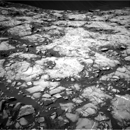 Nasa's Mars rover Curiosity acquired this image using its Right Navigation Camera on Sol 1215, at drive 118, site number 52