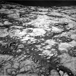 Nasa's Mars rover Curiosity acquired this image using its Right Navigation Camera on Sol 1215, at drive 124, site number 52