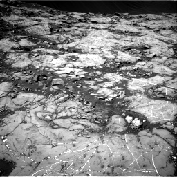 Nasa's Mars rover Curiosity acquired this image using its Right Navigation Camera on Sol 1215, at drive 130, site number 52
