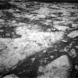 Nasa's Mars rover Curiosity acquired this image using its Right Navigation Camera on Sol 1215, at drive 142, site number 52