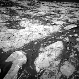 Nasa's Mars rover Curiosity acquired this image using its Right Navigation Camera on Sol 1215, at drive 148, site number 52