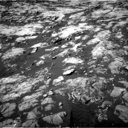 Nasa's Mars rover Curiosity acquired this image using its Right Navigation Camera on Sol 1215, at drive 196, site number 52