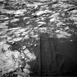 Nasa's Mars rover Curiosity acquired this image using its Right Navigation Camera on Sol 1215, at drive 208, site number 52