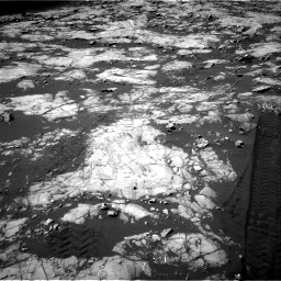 Nasa's Mars rover Curiosity acquired this image using its Right Navigation Camera on Sol 1215, at drive 220, site number 52