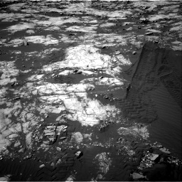 Nasa's Mars rover Curiosity acquired this image using its Right Navigation Camera on Sol 1215, at drive 232, site number 52