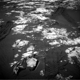 Nasa's Mars rover Curiosity acquired this image using its Right Navigation Camera on Sol 1215, at drive 256, site number 52