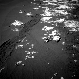 Nasa's Mars rover Curiosity acquired this image using its Right Navigation Camera on Sol 1215, at drive 274, site number 52