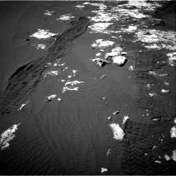 Nasa's Mars rover Curiosity acquired this image using its Right Navigation Camera on Sol 1215, at drive 280, site number 52