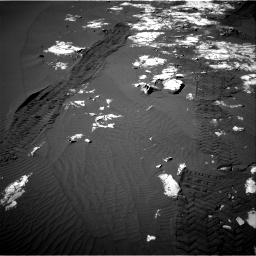 Nasa's Mars rover Curiosity acquired this image using its Right Navigation Camera on Sol 1215, at drive 286, site number 52