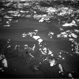 Nasa's Mars rover Curiosity acquired this image using its Right Navigation Camera on Sol 1215, at drive 322, site number 52