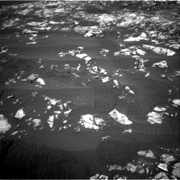 Nasa's Mars rover Curiosity acquired this image using its Right Navigation Camera on Sol 1215, at drive 334, site number 52