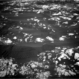 Nasa's Mars rover Curiosity acquired this image using its Right Navigation Camera on Sol 1215, at drive 340, site number 52
