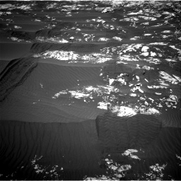 Nasa's Mars rover Curiosity acquired this image using its Right Navigation Camera on Sol 1215, at drive 364, site number 52