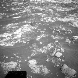 Nasa's Mars rover Curiosity acquired this image using its Right Navigation Camera on Sol 1215, at drive 394, site number 52