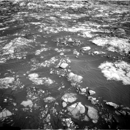 Nasa's Mars rover Curiosity acquired this image using its Right Navigation Camera on Sol 1215, at drive 406, site number 52