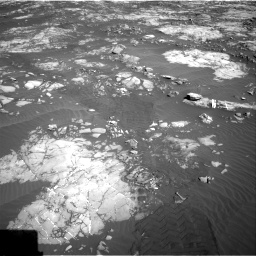 Nasa's Mars rover Curiosity acquired this image using its Right Navigation Camera on Sol 1215, at drive 424, site number 52