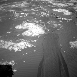 Nasa's Mars rover Curiosity acquired this image using its Right Navigation Camera on Sol 1215, at drive 436, site number 52