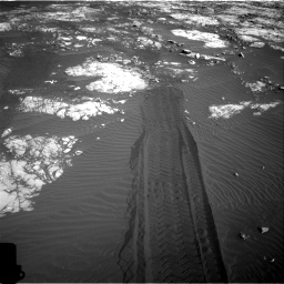 Nasa's Mars rover Curiosity acquired this image using its Right Navigation Camera on Sol 1215, at drive 448, site number 52