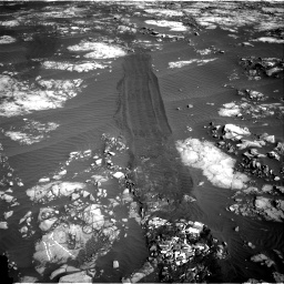 Nasa's Mars rover Curiosity acquired this image using its Right Navigation Camera on Sol 1215, at drive 466, site number 52