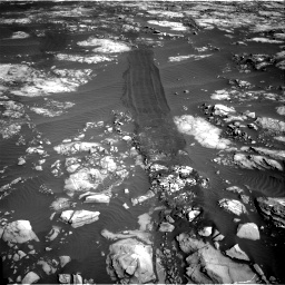Nasa's Mars rover Curiosity acquired this image using its Right Navigation Camera on Sol 1215, at drive 472, site number 52