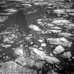 Nasa's Mars rover Curiosity acquired this image using its Right Navigation Camera on Sol 1215, at drive 484, site number 52