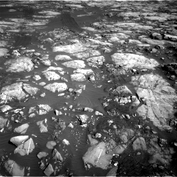 Nasa's Mars rover Curiosity acquired this image using its Right Navigation Camera on Sol 1215, at drive 514, site number 52