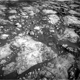 Nasa's Mars rover Curiosity acquired this image using its Right Navigation Camera on Sol 1215, at drive 532, site number 52