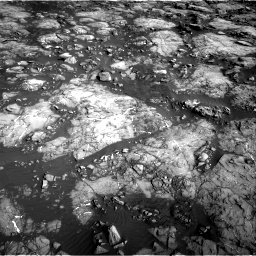 Nasa's Mars rover Curiosity acquired this image using its Right Navigation Camera on Sol 1215, at drive 538, site number 52