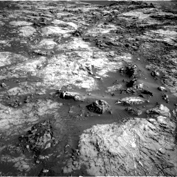 Nasa's Mars rover Curiosity acquired this image using its Right Navigation Camera on Sol 1215, at drive 562, site number 52