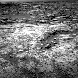 Nasa's Mars rover Curiosity acquired this image using its Right Navigation Camera on Sol 1215, at drive 592, site number 52