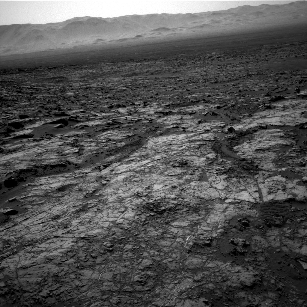 Nasa's Mars rover Curiosity acquired this image using its Right Navigation Camera on Sol 1215, at drive 614, site number 52