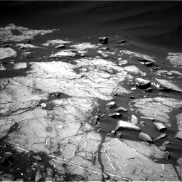 Nasa's Mars rover Curiosity acquired this image using its Left Navigation Camera on Sol 1216, at drive 650, site number 52