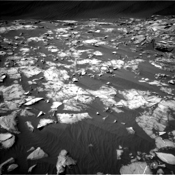 Nasa's Mars rover Curiosity acquired this image using its Left Navigation Camera on Sol 1216, at drive 752, site number 52