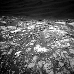 NASA's Mars rover Curiosity acquired this image using its Left Navigation Camera (Navcams) on Sol 1216