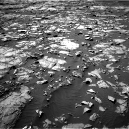 Nasa's Mars rover Curiosity acquired this image using its Left Navigation Camera on Sol 1216, at drive 818, site number 52