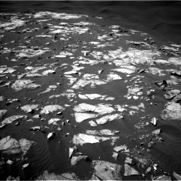 Nasa's Mars rover Curiosity acquired this image using its Left Navigation Camera on Sol 1216, at drive 854, site number 52