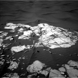 Nasa's Mars rover Curiosity acquired this image using its Left Navigation Camera on Sol 1216, at drive 926, site number 52