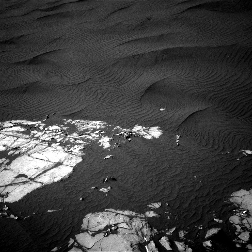 Nasa's Mars rover Curiosity acquired this image using its Left Navigation Camera on Sol 1216, at drive 936, site number 52