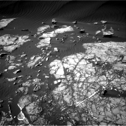 Nasa's Mars rover Curiosity acquired this image using its Right Navigation Camera on Sol 1216, at drive 620, site number 52