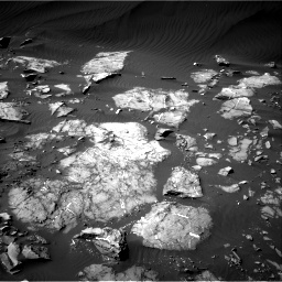 Nasa's Mars rover Curiosity acquired this image using its Right Navigation Camera on Sol 1216, at drive 632, site number 52
