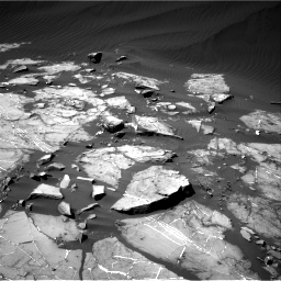 Nasa's Mars rover Curiosity acquired this image using its Right Navigation Camera on Sol 1216, at drive 644, site number 52