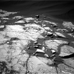 Nasa's Mars rover Curiosity acquired this image using its Right Navigation Camera on Sol 1216, at drive 650, site number 52