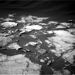 Nasa's Mars rover Curiosity acquired this image using its Right Navigation Camera on Sol 1216, at drive 668, site number 52